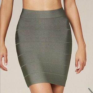 Bebe military Green bandage skirt! Brand new💕